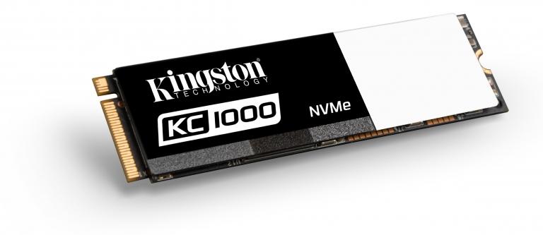 Kingston 推出全新KC1000 NVMe PCIe固态硬碟 满足重度使用者需求