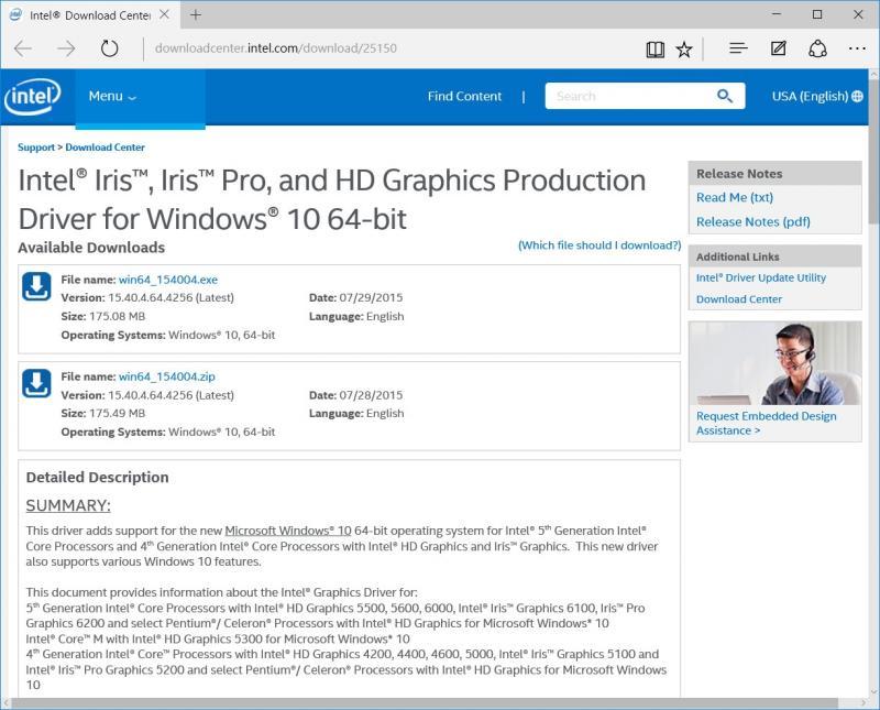 Intel Hd Graphics 2000 Driver Windows 10 64 Bit Download