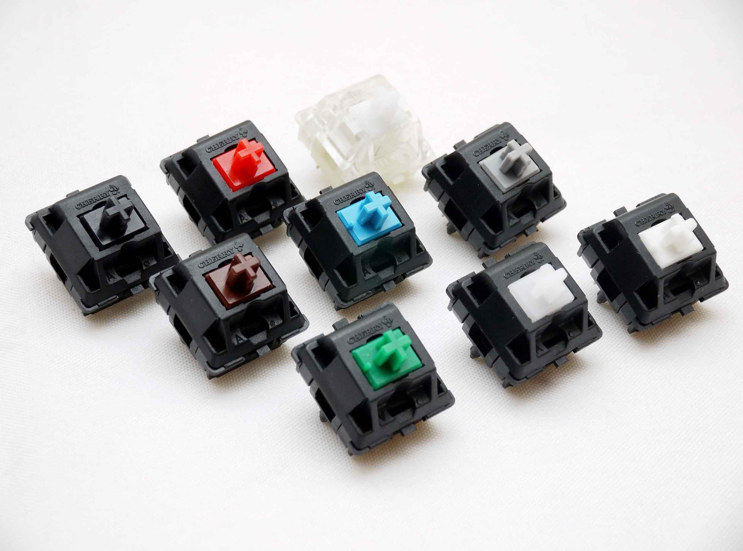 机械键盘的触发开关,最知名的就是德国的cherry,pcdiy!图片